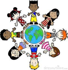 children of the world deti pinterest child clip art and school rh pinterest com