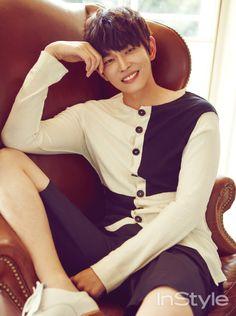 Yoon Kyun Sang - InStyle Magazine September Issue '15
