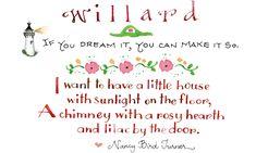 Susan Branch - Autumn dreams with Willard... - August, 2011