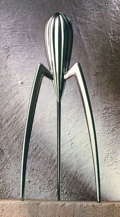 "Philippe Starck ""Juicy Salif"" by ALESSI 1990. During the first digital age. *Related to Art Nouveau* & *The Nineties: Minimalism*"