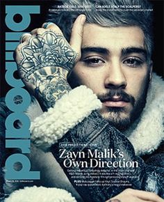 The full interview with Zayn is in the new issue of Billboard magazine