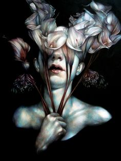 """""""To Follow The Sun"""" 2013 colored pencils on paper, cm 60x45 by Marco Mazzoni"""