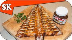 Nutella Christmas Tree – Tear and Share Bread : Steve's Kitchen - 13 Nov 2014 Herb Bread, Potato Bread, Pastry Recipes, Bread Recipes, Cooking Recipes, Tear And Share Bread, Bread Twists, Cheese Twists, Nutella Bread