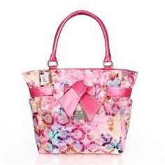 Look Here! Coach Poppy Bowknot Monogram Medium Pink Totes CDF Outlet Online All New Designer Handbags, Bags, and Purses here! Michael Kors Sunglasses, Cheap Michael Kors, Michael Kors Fashion, Michael Kors Outlet, Handbags Michael Kors, Coach Handbags, Coach Purses, Michael Kors Bag, Coach Bags