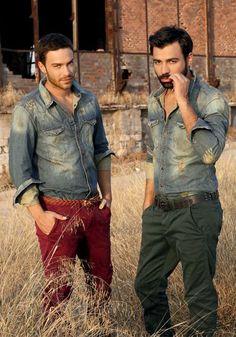 Αndreas Gewrgiou & Stefanos Mihail   (those greeks ^_- )