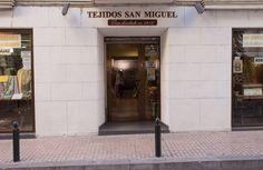 TEJIDOS SAN MIGUEL EN SU ACTUAL SEDE SITUADA EN LA CALLE HERMANOS IBARRA DE ZARAGOZA.