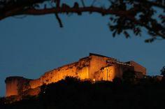 Il Castello Normanno-Svevo di Cosenza, sul colle Pancrazio.