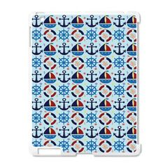 Nautical Sailboat Anchor iPad2 Case