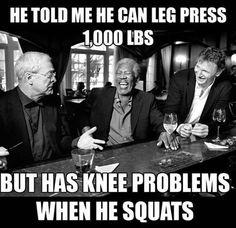 Gym humor...squat!
