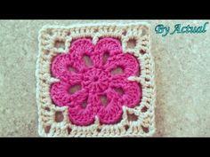 Square Fácil Crochê Passo a Passo por Claudete Azevedo - YouTube