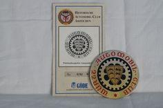 Catawiki pagina online de subastas Insignia automobile car club wurttemberg wac automobil club