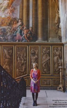 By Emli Bendixen, for Sainsburys Magazine Dr Lucy Worsley, Ace And Jig, Advanced Style, National Portrait Gallery, I Love Lucy, Historian, Sainsburys, Painting, Magazine