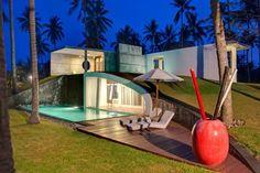 + Arquitetura :     Conheça o Villa Sapi, desenvolvido pelo designer David Lombardi e esta localizado em Lombok (Indonésia).