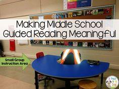 Keeping middle school students engaged during reading can be challenging. This blog post provides several suggestions on how to increase engagement during guided reading.