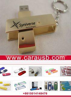 Metal plated gold rotating housing USB 2.0 flash memory sticks print logo