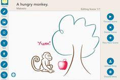 Makesto storytelling app for kids: Great use of technology + creativity