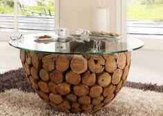 Möbel aus treibholz selber bauen  treibholz-tisch wohnzimmertisch selber bauen baum   Interior ...