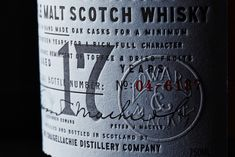 "Craigellachie – this is a new bottling of ""the firey crag"". Steadfastly still using worm tubs to this day (snaking copper condensers) to add sulphurous ballast to the dram – it was even considered 'old fashioned' back in 1891. Legend has it that the found…"