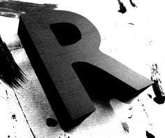 (2011-09) R Typography Letters, Lettering, Floral Wallpaper Iphone, Alphabet Photography, 3d Letters, Design Reference, Symbols, Prints, Alphabet Soup