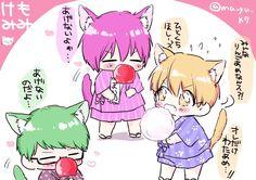 #knb #kise #midorima #murasakibara