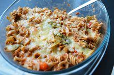 Zapiekanka z makaronu i warzyw fitness Mozzarella, Macaroni And Cheese, Fitness, Ethnic Recipes, Food, Mac And Cheese, Essen, Meals, Yemek
