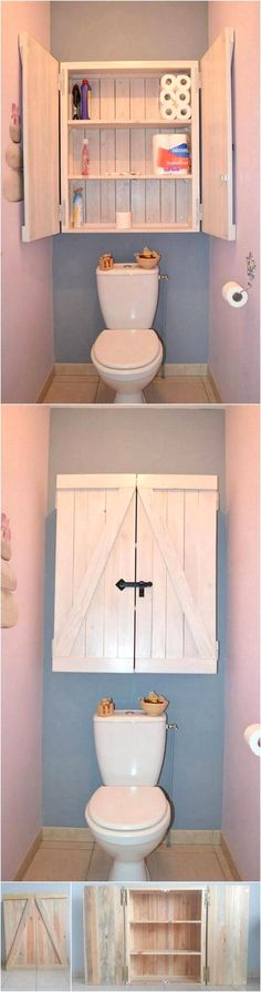26 CREATIVE DIY PALLET PROJECTS FOR THE BATHROOM
