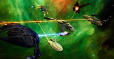 In the waning hours of the Dominion War, the massive Federation-Klingon-Romulan armada sets a course for Cardassia, to take on the ever-persistent Dominion. Before they all set off at warp speed, t...