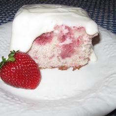 Strawberry Supreme Poke Cake, Millie's