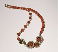 Goldstone necklace-wire wrapped jewelry handmade necklace-Gemstone Jewelry-wearable art - christmas gift