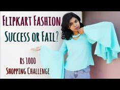 Flipkart Fashion Challenge Success or Fail?  Rs 1000 Flipkart Shopping Challenge | AdityIyer Flipkart Fashion Challenge Success or Fail? Rs 1000 Flipkart Shopping Challenge in today's video. This is my first time shopping at flipkart fashion clothing & I show you guys if it was a success or fail to shop at flipkart for women's clothing. Do you like the try on Rs 1000 flipkart fashion clothing challenge? Instagram: https://www.instagram.com/adityiyerr/