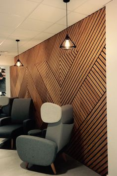 12 Modern Office Ceiling Designs With Trending Pics In 2020 Wooden Wall Design, Wall Panel Design, Wall Decor Design, 3d Wall Panels, Wooden Wall Panels, Wood Ceiling Panels, 3d Wall Decor, Wood Panel Walls, Wooden Walls