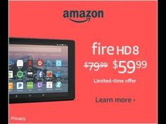 Discount Dave Shares Review Of Fire HD 8 Tablet (Good or Bad) Discount Electronics, Gaming Station, Fire, Learning, Youtube, Studying, Teaching, Youtubers, Youtube Movies