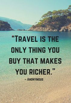 Travel is the only thing - Quotes 2 SMS
