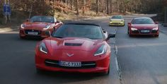 Watch the Chevy Corvette dismiss its Euro rivals at the hands of a Brit magazine - Autoblog