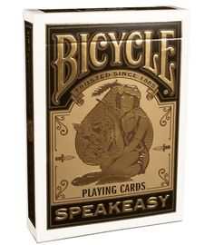 Speakeasy Bicycle playing cards