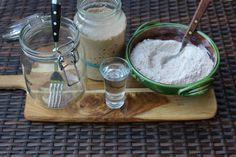 Vadkovászsuli: Vad-Kovász készítése Pudding, Desserts, Food, Tailgate Desserts, Deserts, Custard Pudding, Essen, Puddings, Postres