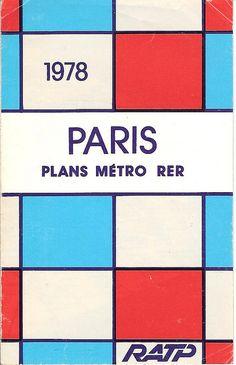 Et ce plan de métro cubiste et fabuleux