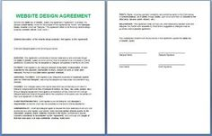 Official Management Contract Template Free  My Board