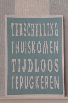 Terschelling - Thuiskomen - Tijdloos - Terugkeren (credits: Marja van Hemert)