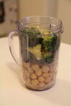 Roasted Broccoli Hummus More