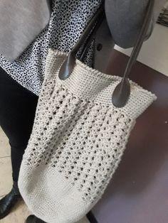 Au Crochet qui m'aille...: Un grand sac cabas pour l'été