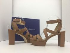 Stuart Weitzman Chorusline Miel Vachetta High Heels Sandals 8.5 M Tan Leather Platforms. Get the must-have platforms of this season! These Stuart Weitzman Chorusline Miel Vachetta High Heels Sandals 8.5 M Tan Leather Platforms are a top 10 member favorite on Tradesy. Save on yours before they're sold out!