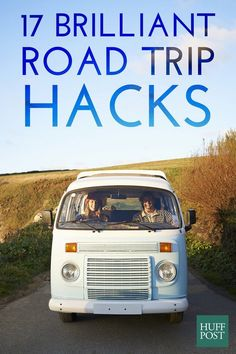 Road trip hacks for those long car trips!