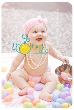 Fishy Face Photography: Happy Easter! ~ 6 month old Easter baby photographer ~ fishy face photography