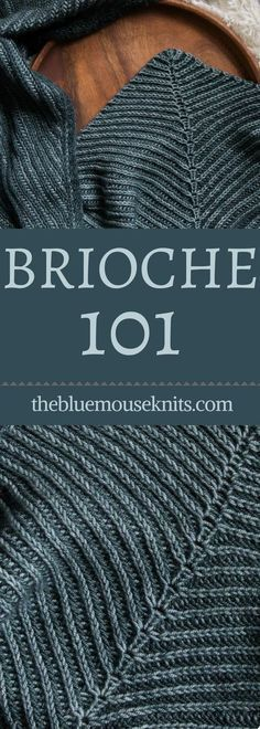 Have you ever wanted to learn brioche knitting? The Brioche 101 free video tutorial series is perfect for anyone wanting to learnt to knit in two color brioche. Learn the basics here, how to do a 2 color italian cast on, how to work setup rows and knit in Knitting Kits, Double Knitting, Loom Knitting, Knitting Stitches, Free Knitting, Knitting Patterns Free, Knitting Tutorials, Free Crochet, Ravelry