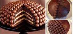 Bolo de chocolate com maltesers