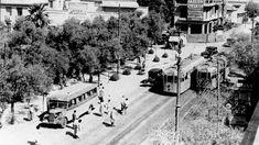 Γιατί η πλατεία Αμερικής λεγόταν πλατεία Αγάμων; - Daily Stories Greece Pictures, Old Pictures, Old Photos, Vintage Photos, Athens History, Ansel Adams, Athens Greece, Old City, Public Transport