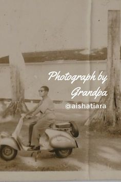 Photograph by my grandpa! Check it out 📷