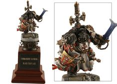 U.K. 2008 - Warhammer 40,000 Single Miniature - Demon Winner, the unofficial Golden Demon website