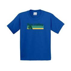 Sun Valley Retro Camping - Idaho Youth T-Shirt